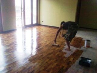 Lantai Kayu, pemasangan Lantai Kayu