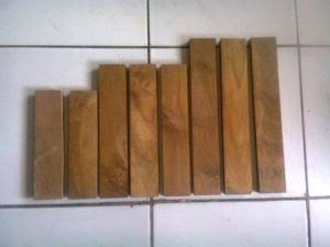 Material Parket Kayu Jati