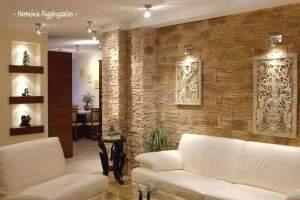 desain lantai rumah kayu